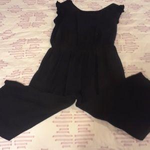 OLD NAVY Linen Jumpsuit M